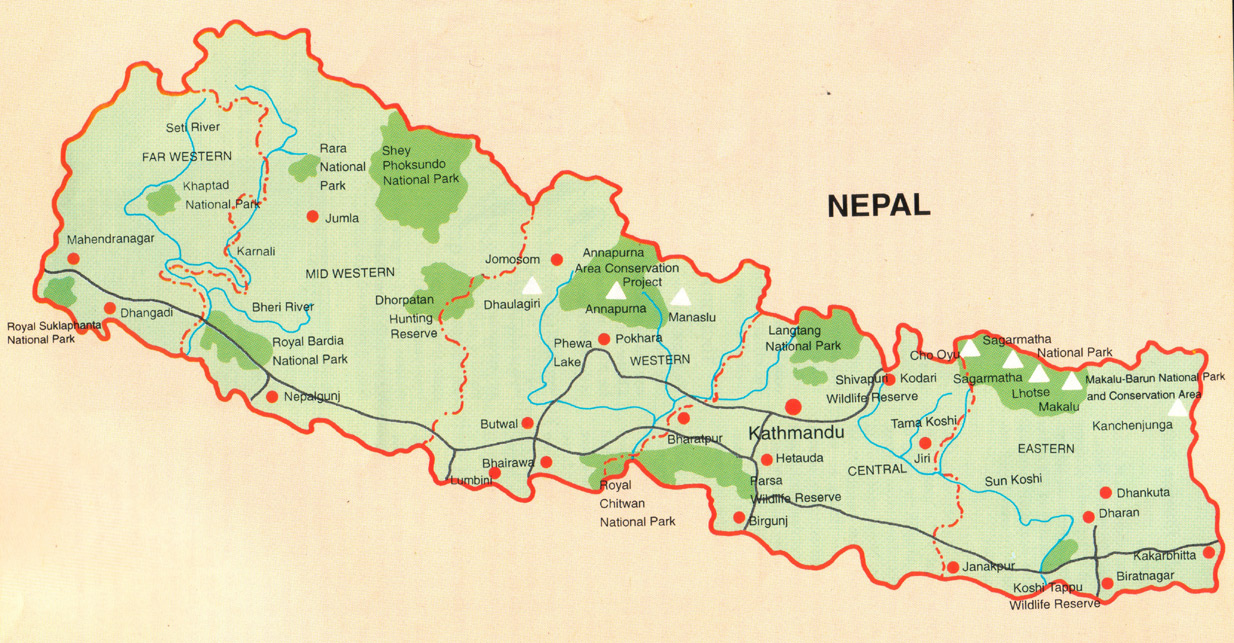About Us Nepal Trekking Agency In Nepal The Himalayan Country - What country is nepal in