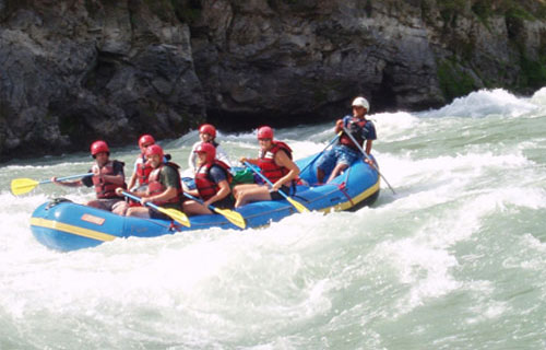 Rafting in Arun River