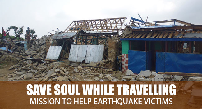 Mission to Help Earthquake Victims