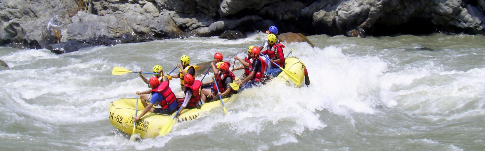 River <span>Rafting</span> in Nepal